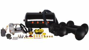 Air Horns - Complete Train Horn Kits - HornBlasters - Nathan AirChime K3LA 540, Train Horn Kit