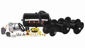 Air Horns - Complete Train Horn Kits - HornBlasters - Nathan AirChime K5LA 540, Train Horn Kit