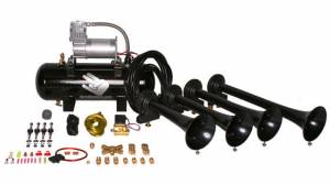 Air Horns - Complete Train Horn Kits - HornBlasters - Shocker Classic, 2 Gallon, 280c, Train Horn Kit