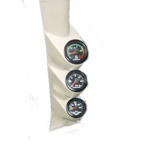 Isspro - Isspro EV 3 Gauge Kit, Ford (1999-07) Superduty, Black Face/Red Pointer (60psi Boost, EGT, Trans Temp) - Image 2