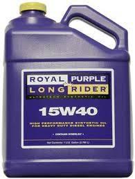Motor Oil - 15W40 Motor Oil - Royal Purple - Royal Purple Multi-Grade Motor Oil, 15W40,   1gal Bottle
