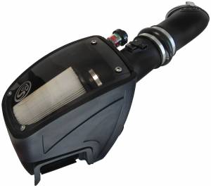 S&B - S&B Air Intake Kit, Ford (2011-15) F250/F350/F450/F550 6.7L Power Stroke Dry Disposable Filter
