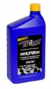 Motor Oil - 5W30 Motor Oil - Royal Purple - Royal Purple XPR Racing Oil,  5W30,   1 Quart Bottle