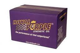 Additives & Fluids - Transmission  Oil (manual) - Royal Purple - Royal Purple Synchromax Manual Transmission Fluid,   12 Quart Case