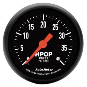 "2-1/16"" Gauges - Auto Meter Z-Series - Autometer - Auto Meter Z-Series, HPOP Pressure (7.3L& 6.0L)"