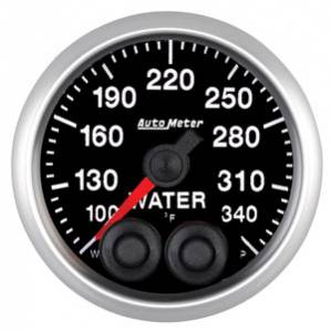 "2-1/16"" Gauges - Auto Meter Competition Series - Autometer - Auto Meter Competition Series, Water Temperature 100*-340*F w/ Warning"