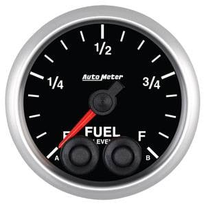 "2-1/16"" Gauges - Auto Meter Elite Series - Autometer - Auto Meter Elite Series, Fuel Level Programmable"