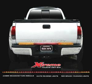 "Recon - Recon LED Tailgate Light Bar, 60"" Scanning Amber/Red/White - Image 2"