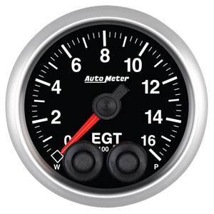 "2-1/16"" Gauges - Auto Meter Elite Series - Autometer - Auto Meter Elite Series, Pyrometer/EGT 0*-1600*F"