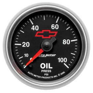 "Gauges - 2-1/16"" Gauges - Auto Meter GM Performance Parts Series"