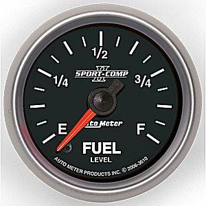 "2-1/16"" Gauges - Auto Meter Sport-Comp II Series - Autometer - Auto Meter Sport-Comp II Series, Fuel Level Programmable (Full Sweep Electric)"