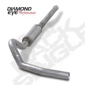 "Diamond Eye Performance - Diamond Eye 4"" Cat Back Exhaust, Chevy/GMC (2006-07) 2500-3500HD, 6.6L Duramax, Single, Aluminized - Image 2"