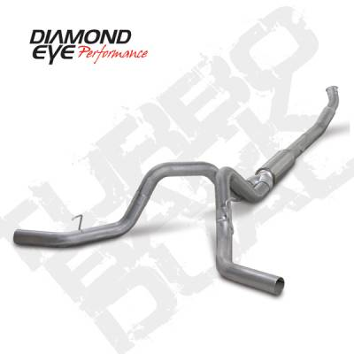 "Exhaust - 5"" Turbo/Down-Pipe Back Dual Exit Exhaust"