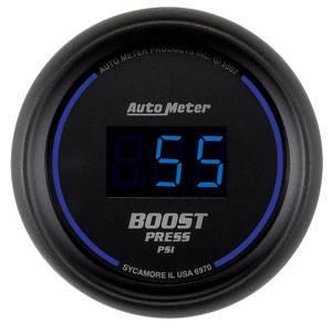 "2-1/16"" Gauges - Auto Meter Cobalt Digital Series - Autometer - Auto Meter Colbalt Digital Series, Boost Pressure 0-60psi"