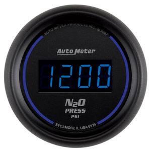 "2-1/16"" Gauges - Auto Meter Cobalt Digital Series - Autometer - Auto Meter Colbalt Digital Series, Nitrous Pressure 0-2000psi"
