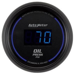 "2-1/16"" Gauges - Auto Meter Cobalt Digital Series - Autometer - Auto Meter Colbalt Digital Series, Oil Pressure 0-100psi"