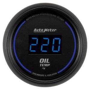 "2-1/16"" Gauges - Auto Meter Cobalt Digital Series - Autometer - Auto Meter Colbalt Digital Series, Oil Temperature 0*-340* F"