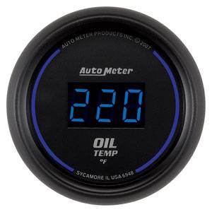 "2-1/16"" Gauges - Auto Meter Cobalt Digital Series - Autometer - Auto Meter Colbalt Digital Series, Oil Temperature 0*-340* F"