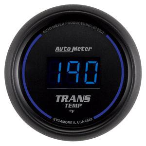 """2-1/16"""" Gauges - Auto Meter Cobalt Digital Series - Autometer - Auto Meter Colbalt Digital Series, Transmission Temperature 0*-300* F"""