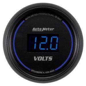 "2-1/16"" Gauges - Auto Meter Cobalt Digital Series - Autometer - Auto Meter Colbalt Digital Series, Voltmeter 8-18 Volts"