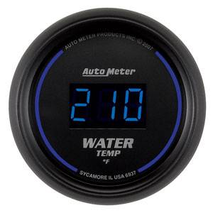 "2-1/16"" Gauges - Auto Meter Cobalt Digital Series - Autometer - Auto Meter Colbalt Digital Series, Water Temperature 0*-300* F"