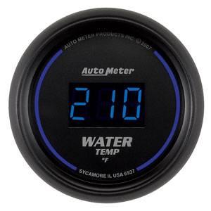 "2-1/16"" Gauges - Auto Meter Cobalt Digital Series - Autometer - Auto Meter Colbalt Digital Series, Water Temperature 0*-300* F"
