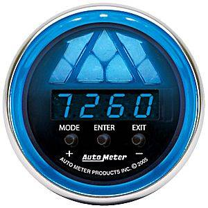 "2-1/16"" Gauges - Auto Meter Cobalt Series - Autometer - Auto Meter Cobalt Series, Digital Pro-Shift System Level 1 (Full Sweep Electric)"