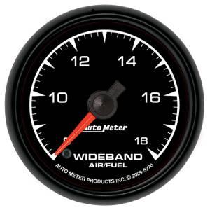 """2-1/16"""" Gauges - Auto Meter ES Series - Autometer - Auto Meter ES Series, Air/Fuel Ratio-Wideband Analog (Full Sweep Electric)"""