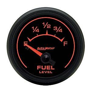 "2-1/16"" Gauges - Auto Meter ES Series - Autometer - Auto Meter ES Series, Fuel Level (Short Sweep Electric) GM"