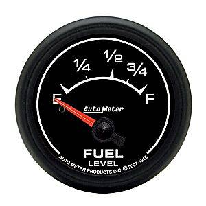 "2-1/16"" Gauges - Auto Meter ES Series - Autometer - Auto Meter ES Series, Fuel Level (Short Sweep Electric) Ford"