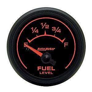 "2-1/16"" Gauges - Auto Meter ES Series - Autometer - Auto Meter ES Series, Fuel Level 240-33 ohms (Short Sweep Electric)"