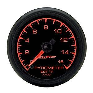 "2-1/16"" Gauges - Auto Meter ES Series - Autometer - Auto Meter ES Series, Pyrometer Kit 0*-1600*F (Full Sweep Electric)"