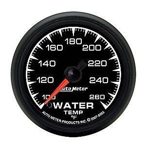"2-1/16"" Gauges - Auto Meter ES Series - Autometer - Auto Meter ES Series, Water Temperature 100*-260*F (Full Sweep Electric)"