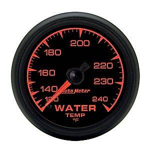 "2-1/16"" Gauges - Auto Meter ES Series - Autometer - Auto Meter ES Series, Water Temperature 120*-240*F (Mechanical)"