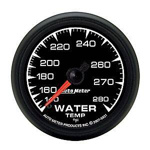 "2-1/16"" Gauges - Auto Meter ES Series - Autometer - Auto Meter ES Series, Water Temperature 140*-280*F (Mechanical)"