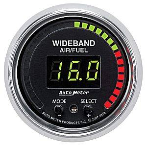"2-1/16"" Gauges - Auto Meter GS Series - Autometer - Auto Meter GS Series, Air/Fuel Ratio-Wideband Pro (Full Sweep Electric)"