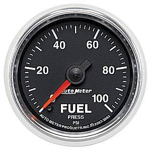 "2-1/16"" Gauges - Auto Meter GS Series - Autometer - Auto Meter GS Series, Fuel Pressure 0-100psi (Full Sweep Electric)"