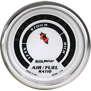 "2-1/16"" Gauges - Auto Meter C2 Series - Autometer - Auto Meter C2 Series, Air/Fuel Ratio Lean-Rich (Full Sweep Electric)"