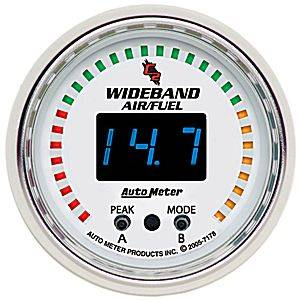 "2-1/16"" Gauges - Auto Meter C2 Series - Autometer - Auto Meter C2 Series, Air/Fuel Ratio-Wideband Pro (Full Sweep Electric)"