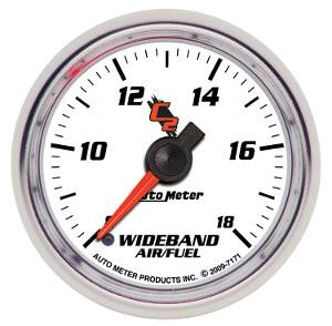 "2-1/16"" Gauges - Auto Meter C2 Series - Autometer - Auto Meter C2 Series, Air/Fuel Ratio-Wideband Analog (Full Sweep Electric)"