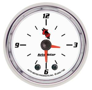 "2-1/16"" Gauges - Auto Meter C2 Series - Autometer - Auto Meter C2 Series, Clock (Full Sweep Electric)"