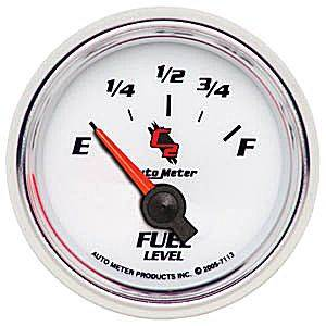 "2-1/16"" Gauges - Auto Meter C2 Series - Autometer - Auto Meter C2 Series, Fuel Level (Short Sweep Electric) GM"