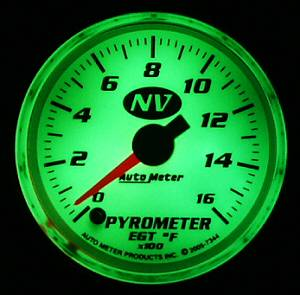 "Gauges - 2-1/16"" Gauges - Auto Meter NV Series"