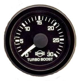 "Gauges - 2-1/16"" Gauges - Isspro EV Black/White"