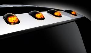 Recon - Recon Cab Roof Lights, Dodge (2003-12) Ram Smoked - Image 4