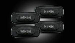 Recon Dually Fender Lights, Dodge (2003-09) 3500 Ram Dually, Smoked