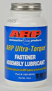Engine Parts - Engine Bolts/Studs - ARP - ARP Ultra Torque Fastener Assembly Lube, 0.5 pint/10oz Brush Top Bottle