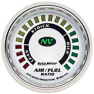 "2-1/16"" Gauges - Auto Meter NV Series - Autometer - Auto Meter NV Series, Air Fuel Ratio (Full Sweep Electric)"