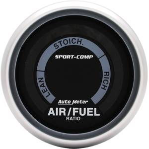 "2-1/16"" Gauges - Auto Meter Sport-Comp Series - Autometer - Auto Meter Sport-Comp Series, Air Fuel Ratio (Full Sweep Electric)"