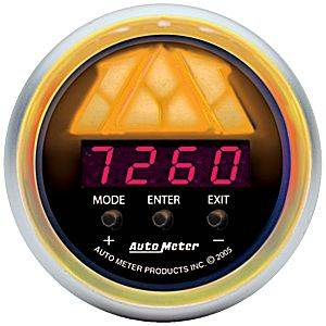 "2-1/16"" Gauges - Auto Meter C2 Series - Autometer - Auto Meter Sport-Comp Series, Digital Pro-Shift System Level 2 (Full Sweep Electric)"